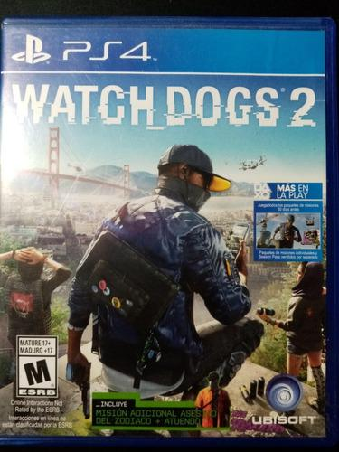 Lote De Juegos Usados Para Ps4 Watch Dogs 1 Y 2, Batman Bg