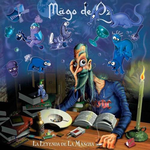 Mago De Oz La Leyenda De La Mancha Vinyl 2 Lp's + Cd