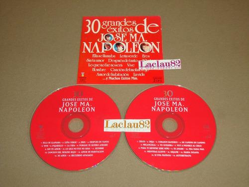 Napoleon 30 Grandes Exitos  Fonovisa Cd Doble