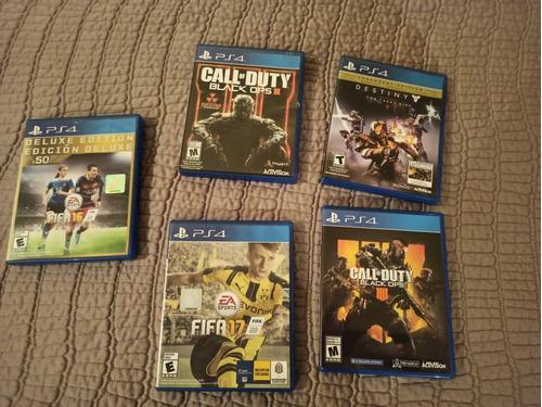 Pack De Juegos De Playstation