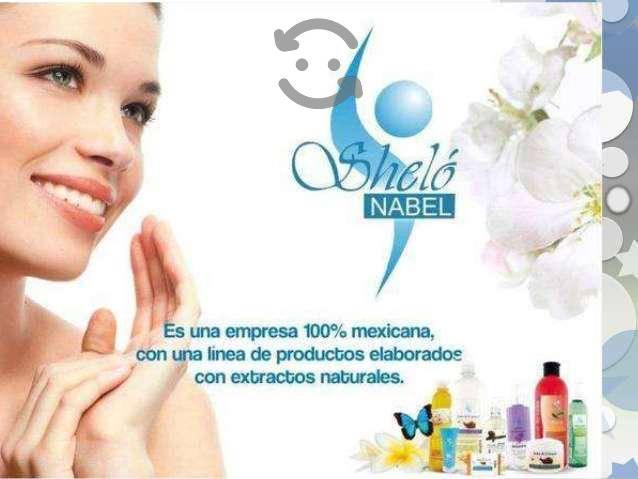 Productos de belleza Sheló Nabel.