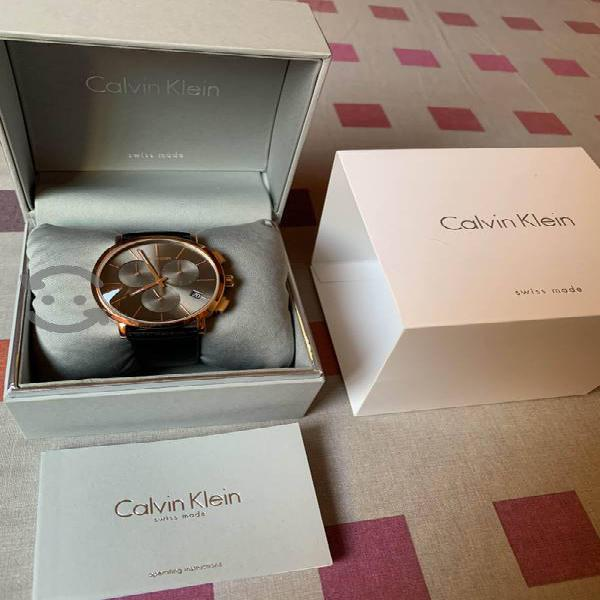 Reloj CALVIN KLEIN Suizo de Piel
