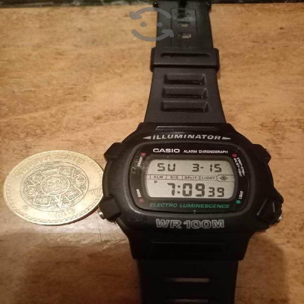 Reloj Casio W740 como nuevo checa fotos