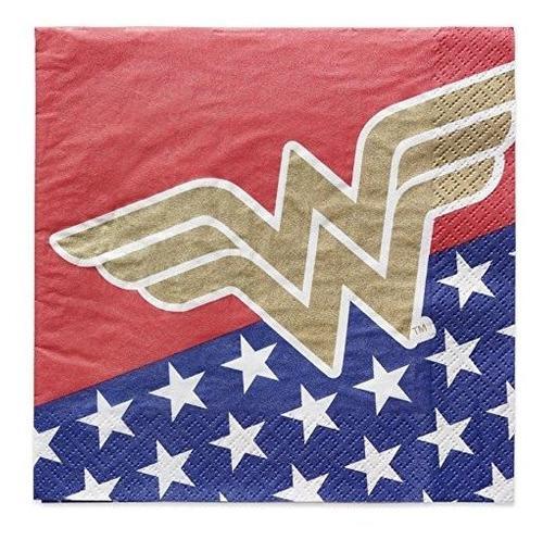 Saludos Americanos Dc Comics Wonder Woman 16 Unidades Servil