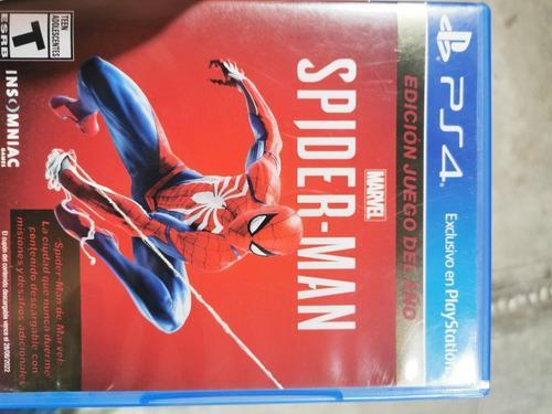 Spiderman Ps4 Edición Juego Del Año
