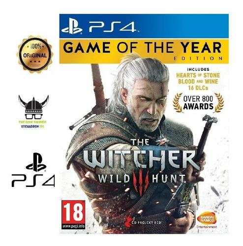 The Witcher 3 Game Of The Year Edition Eu Ps4 Juego Nuevo