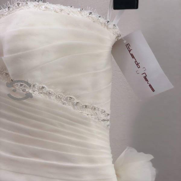 Vestido de novia Nuevo talla chica