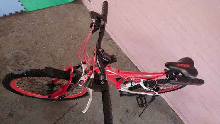 bicicleta benotto Rush Rodada 24