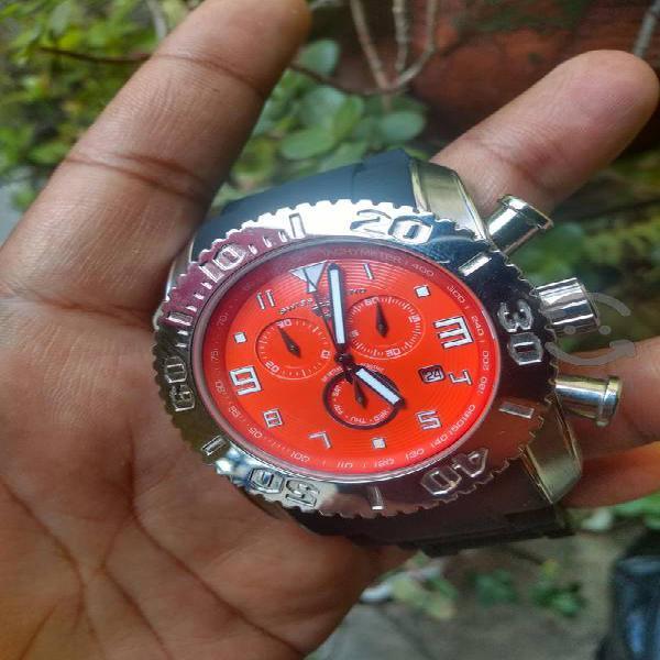 reloj Swiss legend commander cronómetro jumbo