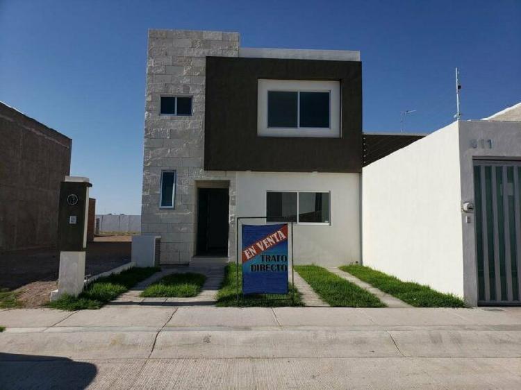 Casa en venta en Aguascalientes Zona Poniente