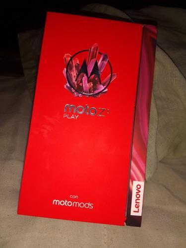 Celular Moto Z 2 Play Completamente Nuevo En Caja