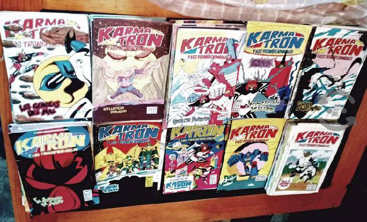 Comics de karmatron era clasica de los años 80's