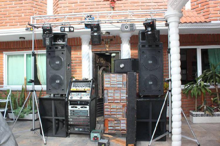 Equipo de luz y Sonido Profesional
