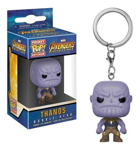 Keychain Llavero Thanos Avengers Infinity War Funko Pop