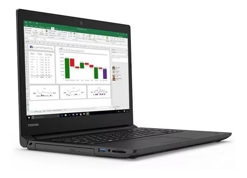 Laptop Toshiba Tecra Core Iu 8gb 1tb Win10 Pro 14''fhd