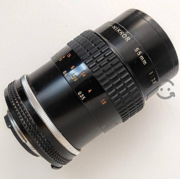 Lente Nikon Micro Nikkor