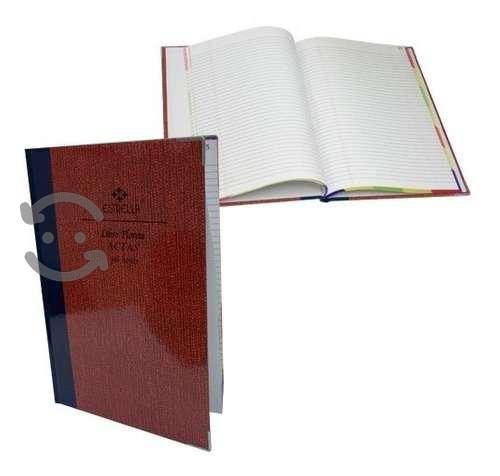Libro Florete De Actas Estrella Forma Francesa 96