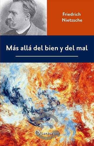 Libro: Mas Alla Del Bien Y Del Mal Autor: Friedri