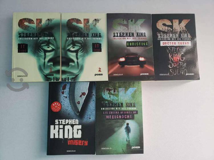 Libros Stephen King - Colección Proceso + Misery