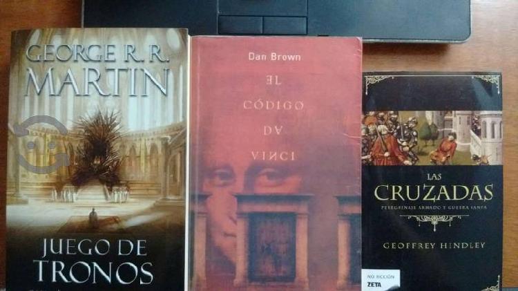 Libros, diferentes titulos