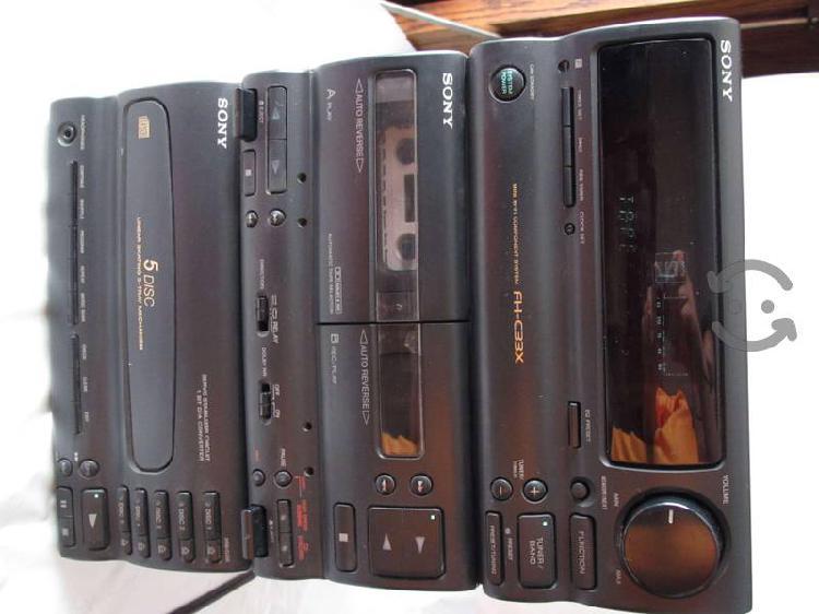 Minicomponente Sony modelo HCD-C33 buen estado
