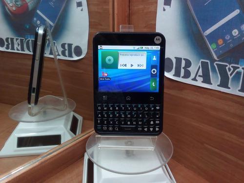 Motorola Charm Mb502 Negro Telcel -- Envío Gratis --