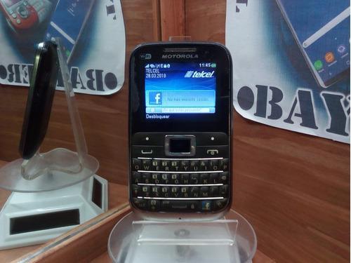 Motorola Ex116 Telcel -- Envío Gratis --