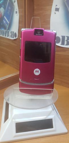 Motorola V3 Telcel Rosa -- Envío Gratis --
