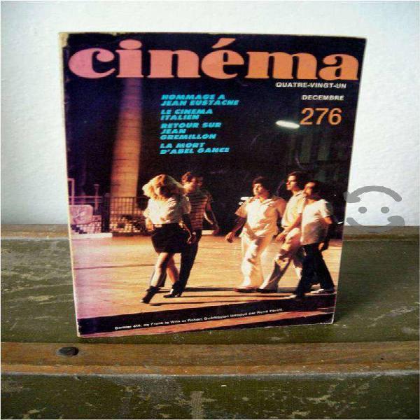 Revista de CINE en FRANCÉS de 1981 CINÉMA