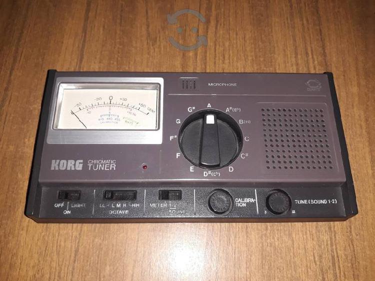 Sintonizador cromático Korg vintage año 1979