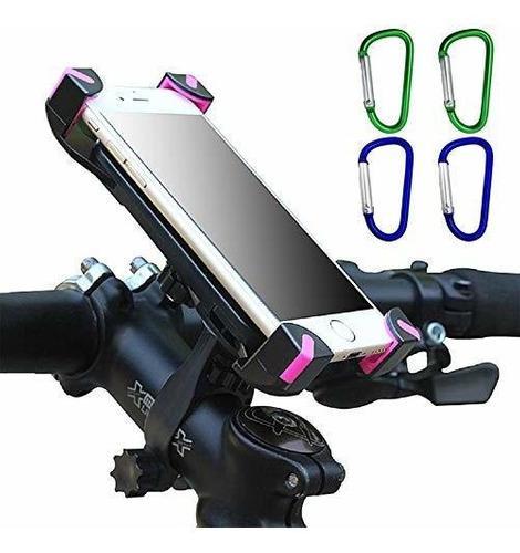 Soporte Para Telã©fono De Bicicleta 360 ° Rotaciã³n S