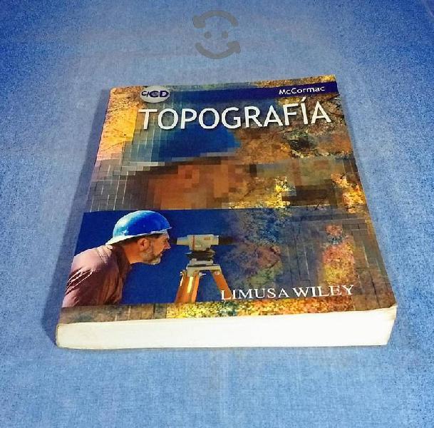 Topografía, Jack McCormac con CD , USADO TPLIB