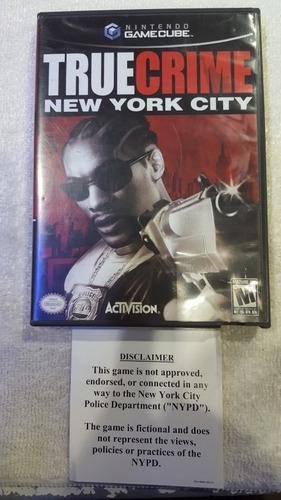 Truecrime New York City Gc. Game Cube Gc. Original