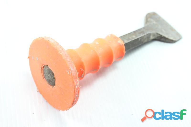 Cincel Con Grip Cuña 3/4 PuLG Largo 8 PuLG Usado (ver