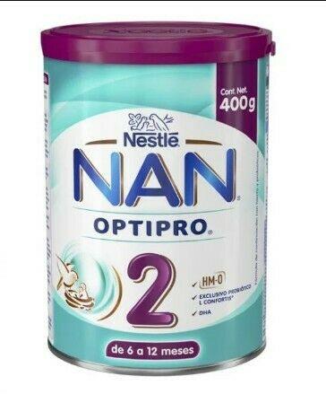 Leche Nan 2 de 400 g