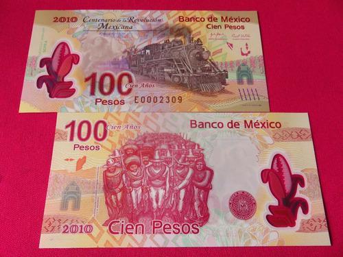 Billete Ferrocarril 100 Pesos Nuevo Con Error Serie A