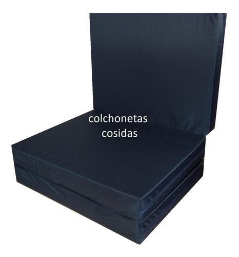 Colchoneta Plegable 180 X 60 X 10 Cm Grosor Tela Ahulada