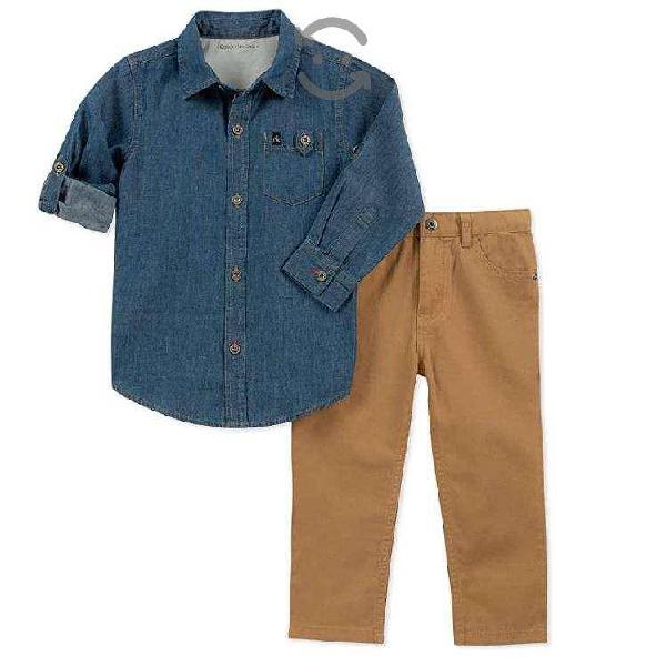 Conjunto Calvin Klein ORIGINAL Camisa Y Pantalon