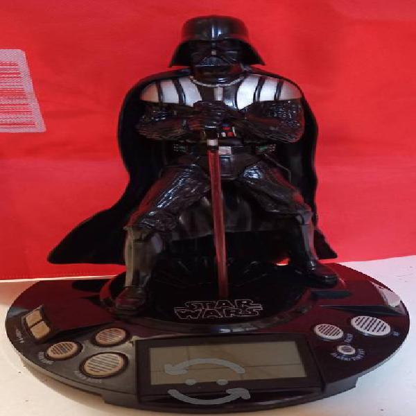 Darth Vader radio reloj despertador.