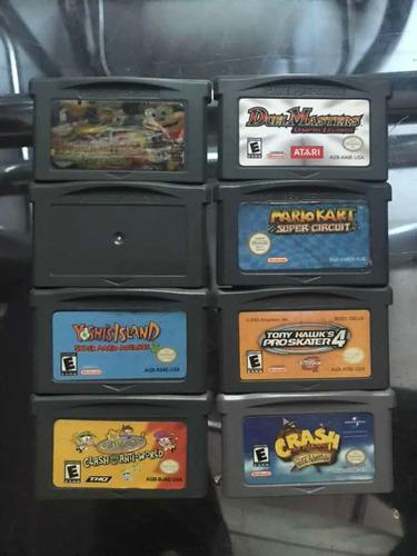 Game Boy Advance/8 Juegos Por Separado avíseme Cuál Quiere