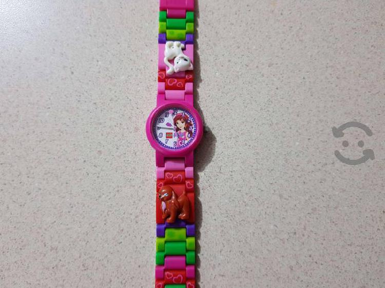 Hermoso Reloj de Lego Original