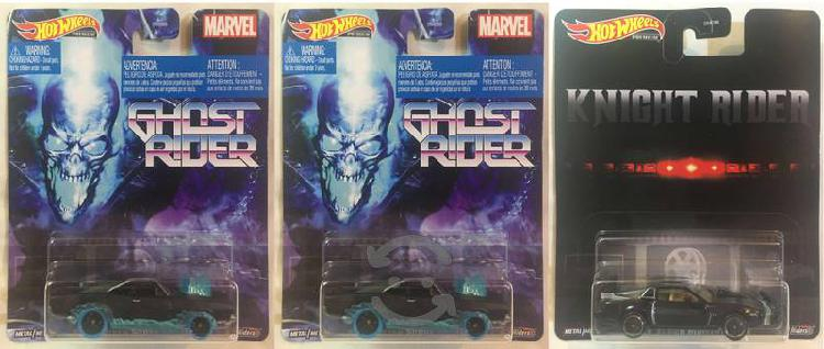 Hot Wheels Ghost Rider - Kitt Super (Premium)