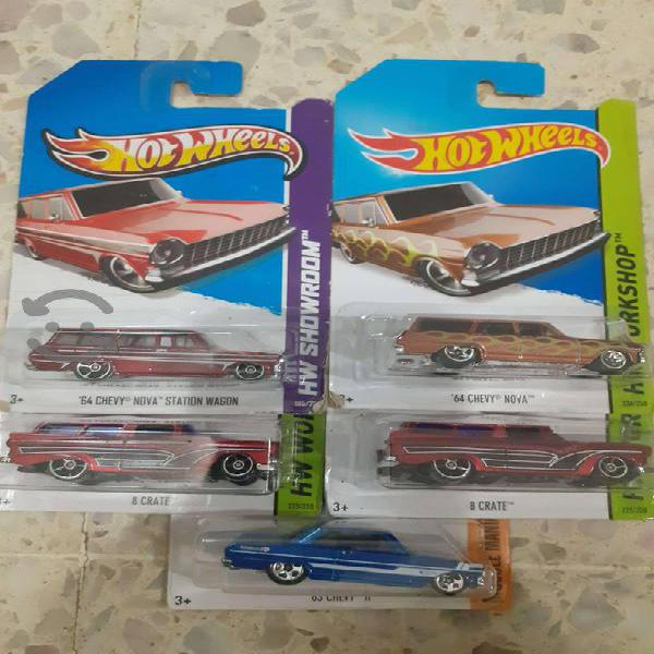 Hot Wheels de los 60's
