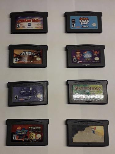 Juegos En Buen Estado Para La Gameboy Advance