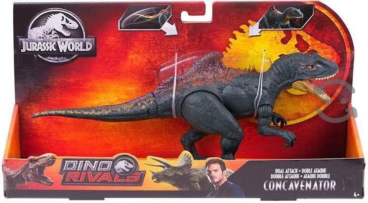 Jurassic world ataque doble dinosaurios