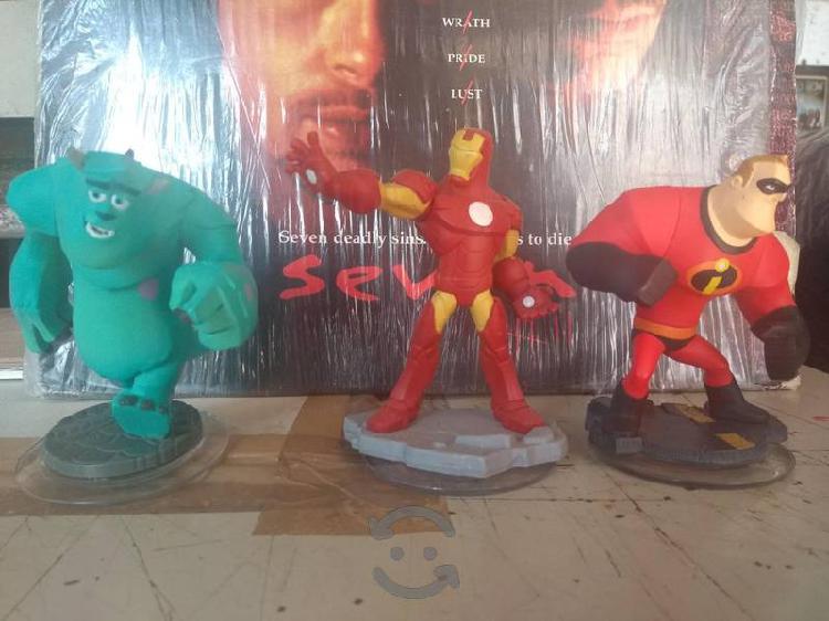 Lote de 6 figuras Disney Infinity y Skylanders.