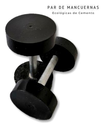 Mancuernas De Cemento, Gym En Casa, Ecológicas 10 Kilos
