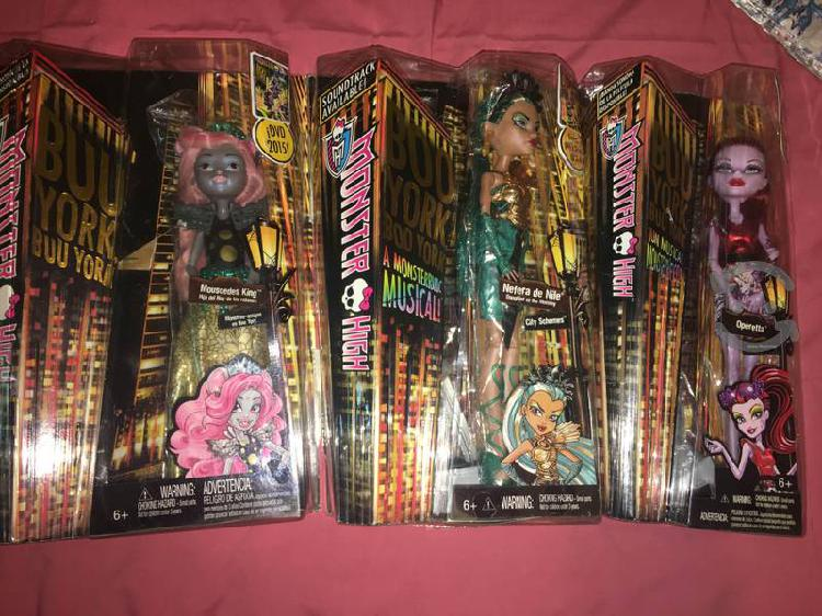 Muñecas Monster High varias