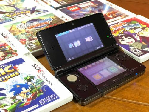 Nintendo 3ds Con 9 Juegos
