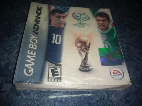 Nintendo Gameboy Advance Juego Fifa World Cup Alemania 2006